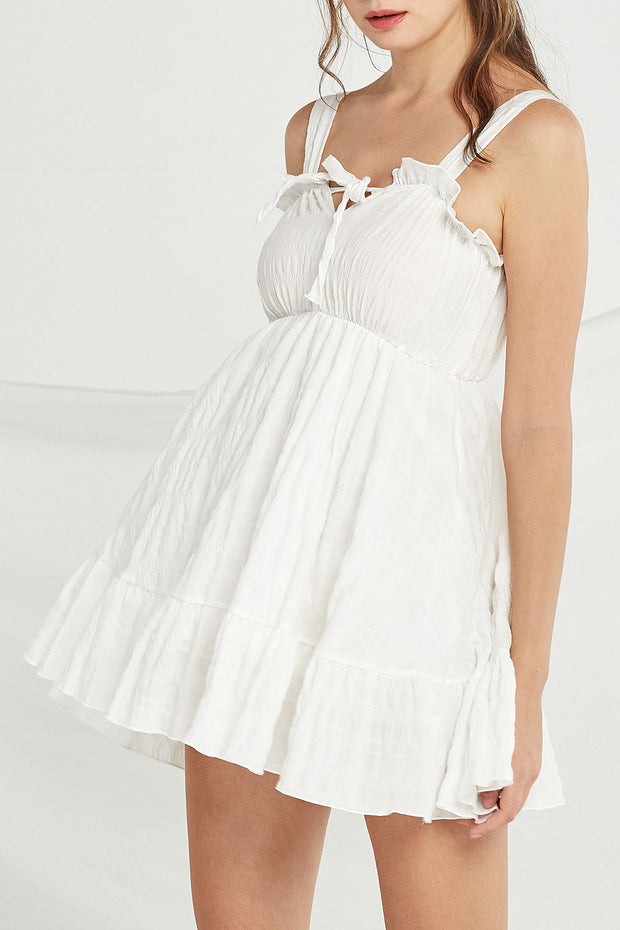Rosalie Frill Pinafore Dress