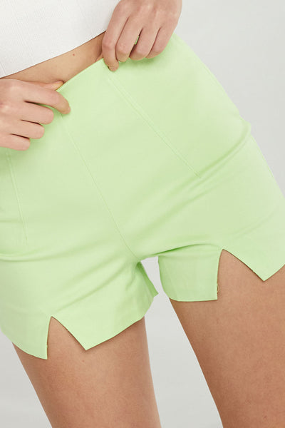 Mariah Shorts w/ Triangle Cut Hem by STORETS