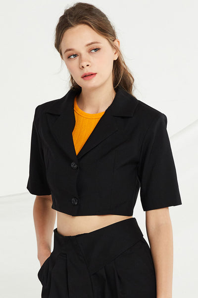 Brynlee Crop Jacket by STORETS
