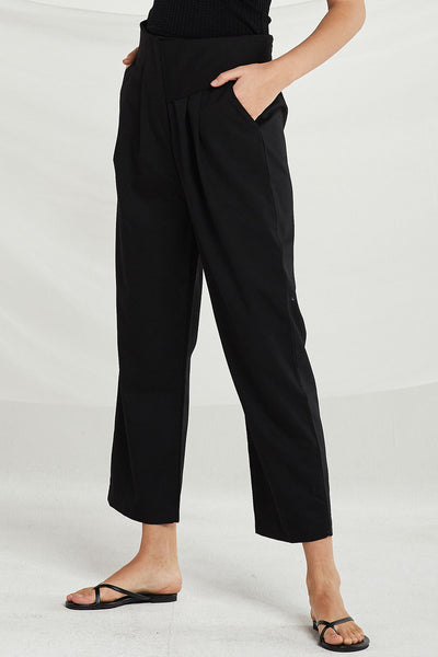Brynlee Asymmetric High Waist Pants by STORETS