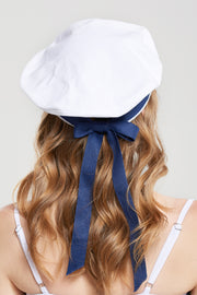 storets.com Neutral Ribbon Beret