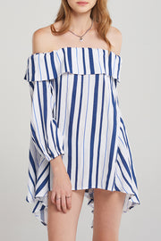 Emily Indi Stripe Mini Dress