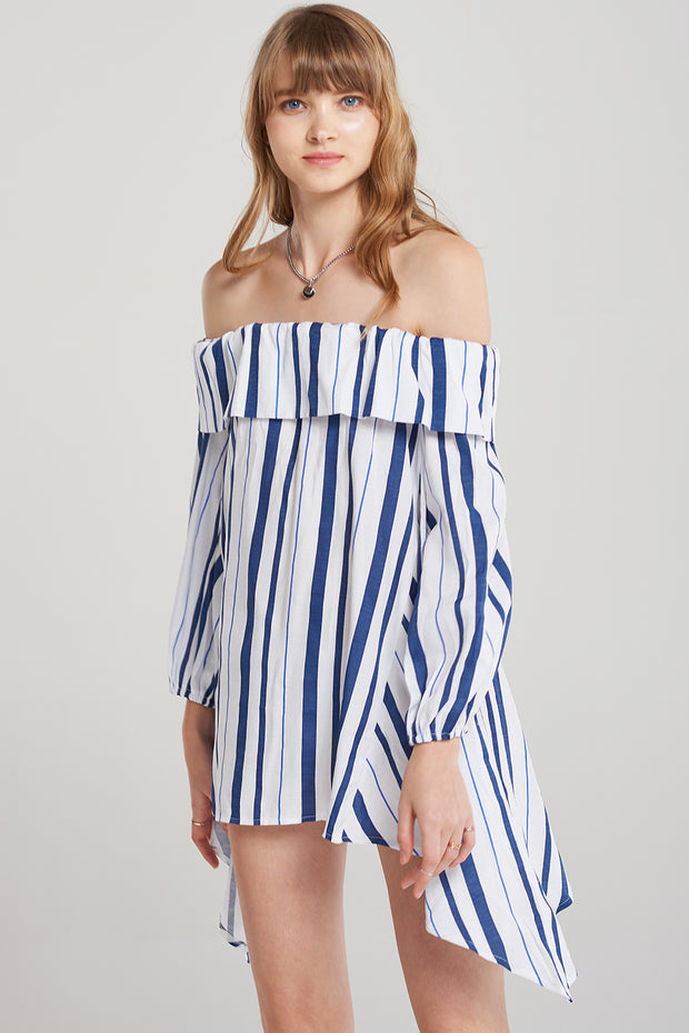 storets.com Emily Indi Stripe Mini Dress