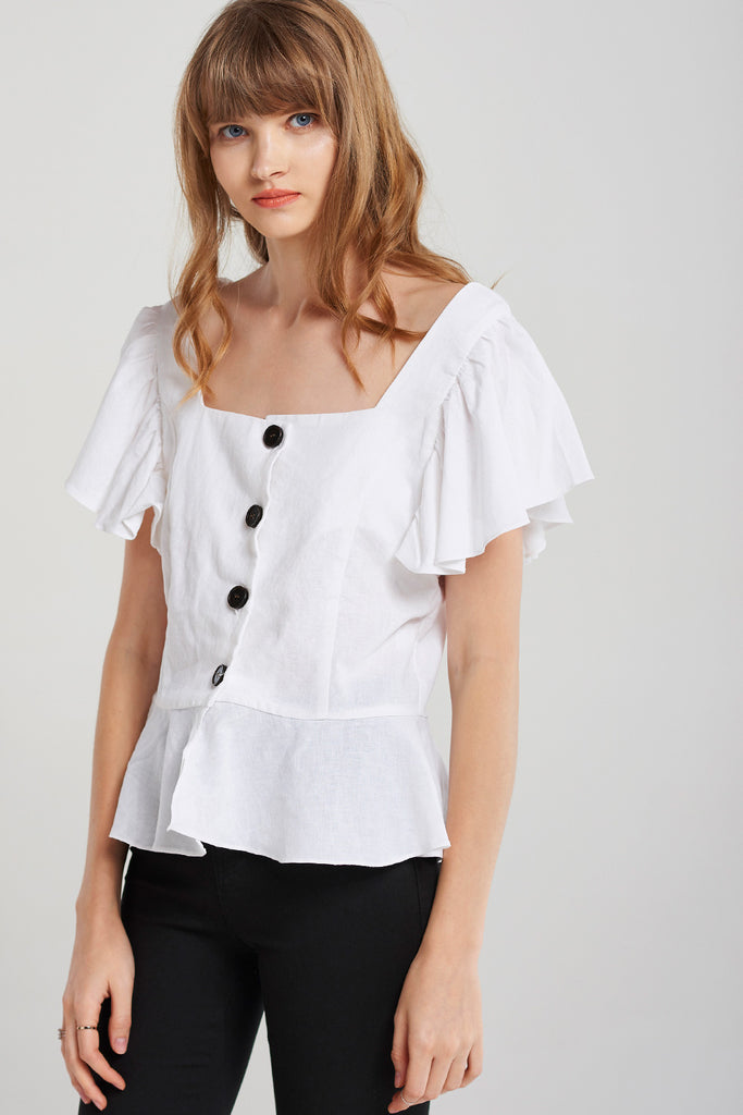 Bianca Buttoned Blouse