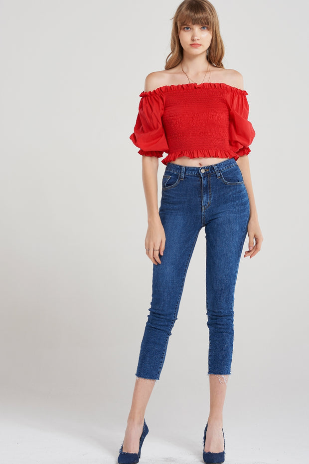Ashleigh Deep Denim Jeans