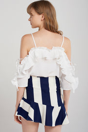 Maximum Bold Stripe Skirt