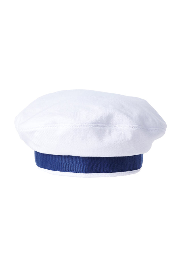 Neutral Ribbon Beret
