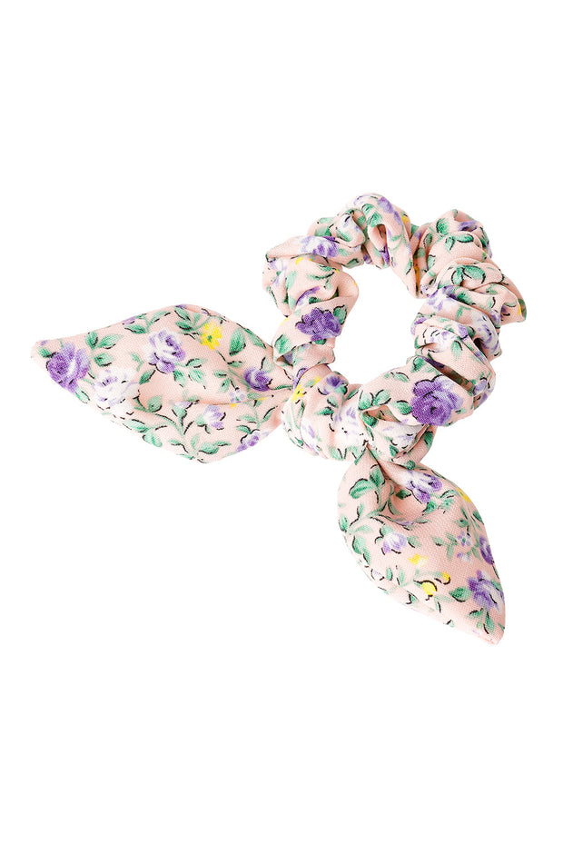 Floral Patterned Scrunchie