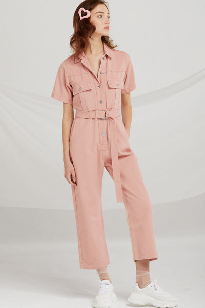 Jasmine Pocket Utility Jumpsuit