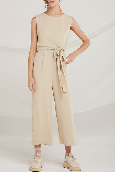 Alexia Layered Wrap Jumpsuit by STORETS