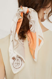 Printed Antique Scarf by STORETS