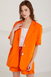 Legacy Oversized Linen Jacket by STORETS