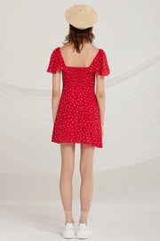Carmen Heart Print Dress