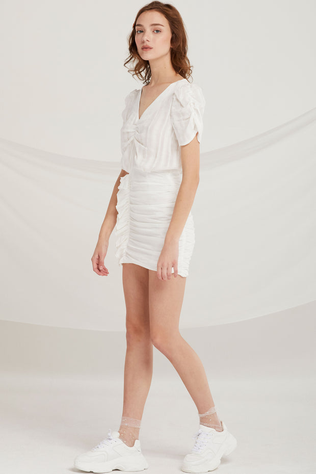 storets.com Keyla Cinched Mini Dress