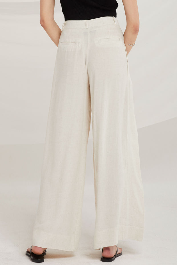 Addisyn Linen Wide Leg Pants