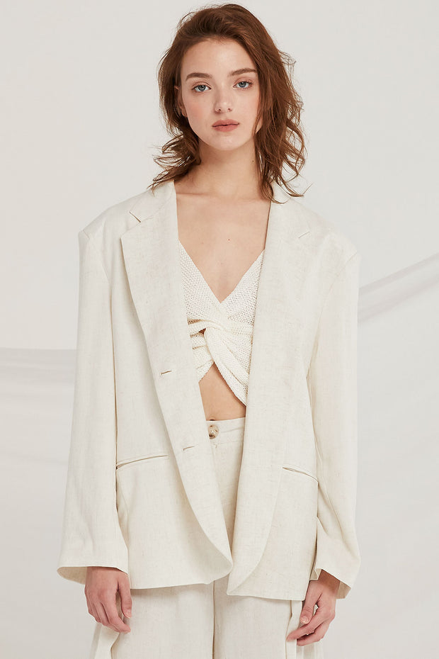 Addisyn Linen Jacket by STORETS