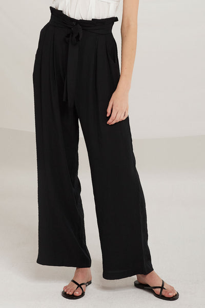 Matilda Belted Palazzo Pants by STORETS