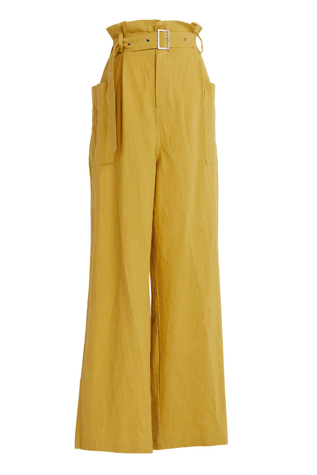 Lainey Paperbag Waist Utility Pants