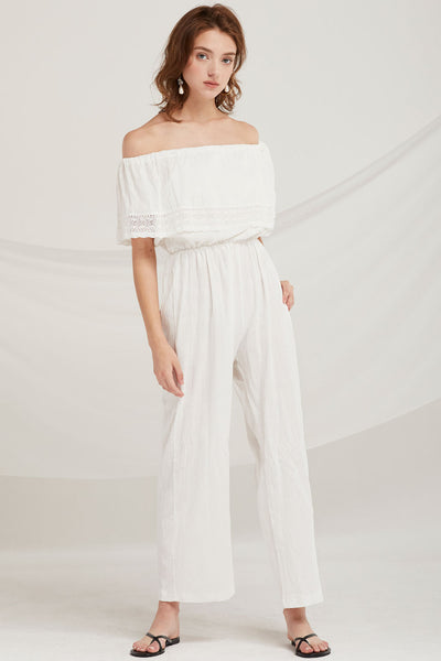 Aylin Off-the-Shoulder Jumpsuit by STORETS