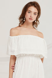 storets.com Aylin Off-the-Shoulder Jumpsuit