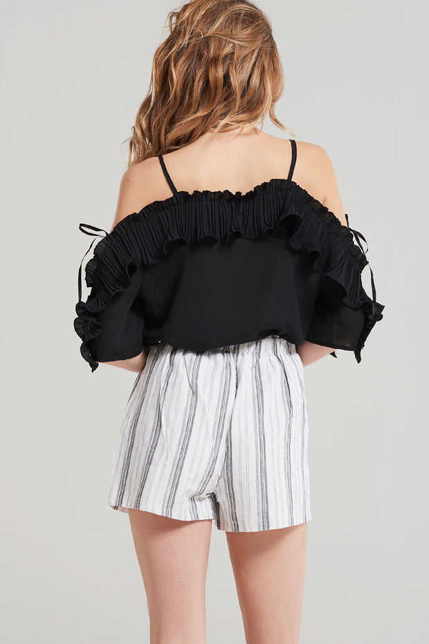 storets.com Rose Wavy Frill Blouse