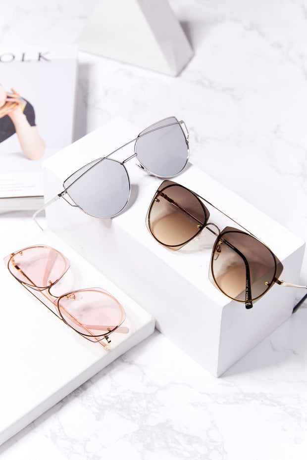 storets.com Square Oversized Sunglasses
