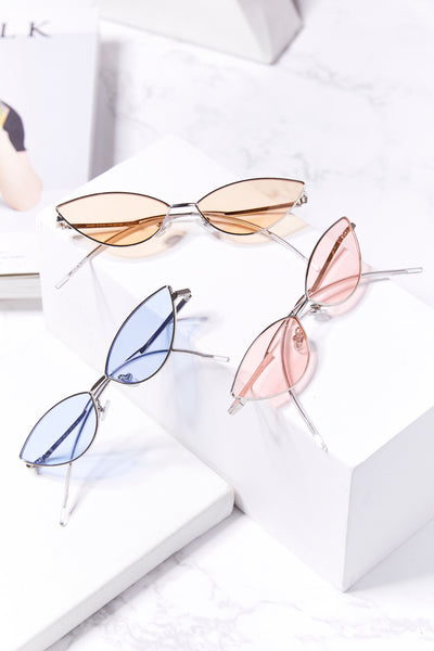 Retro Triangle Sunglasses by STORETS