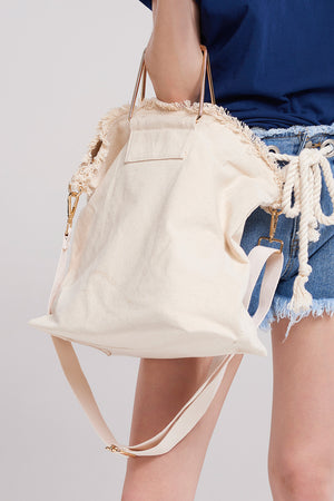Eco Fabric Satchel Bag