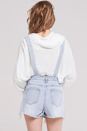 storets.com Kodie Washed-out Denim Overalls-Skyblue