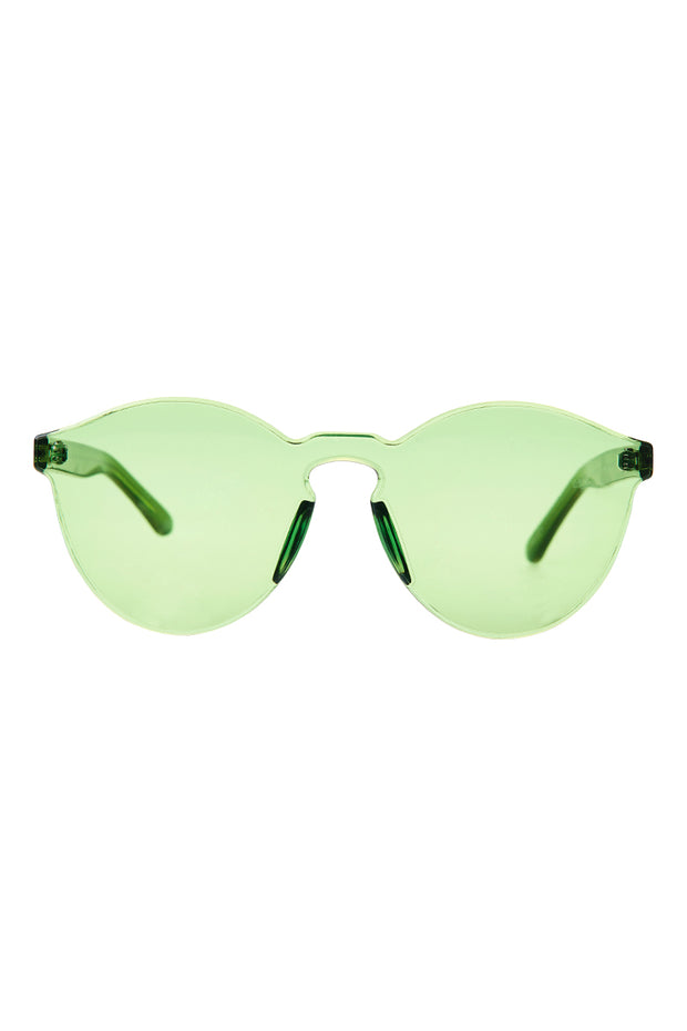Whole Tinted Sunglasses-Green