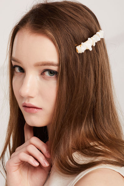 Nacre Hair Pin