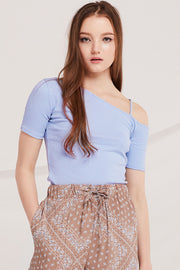 Oaklee One Cold Shoulder Top