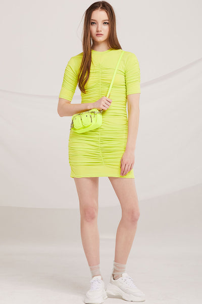 Michaela Ruched Dress