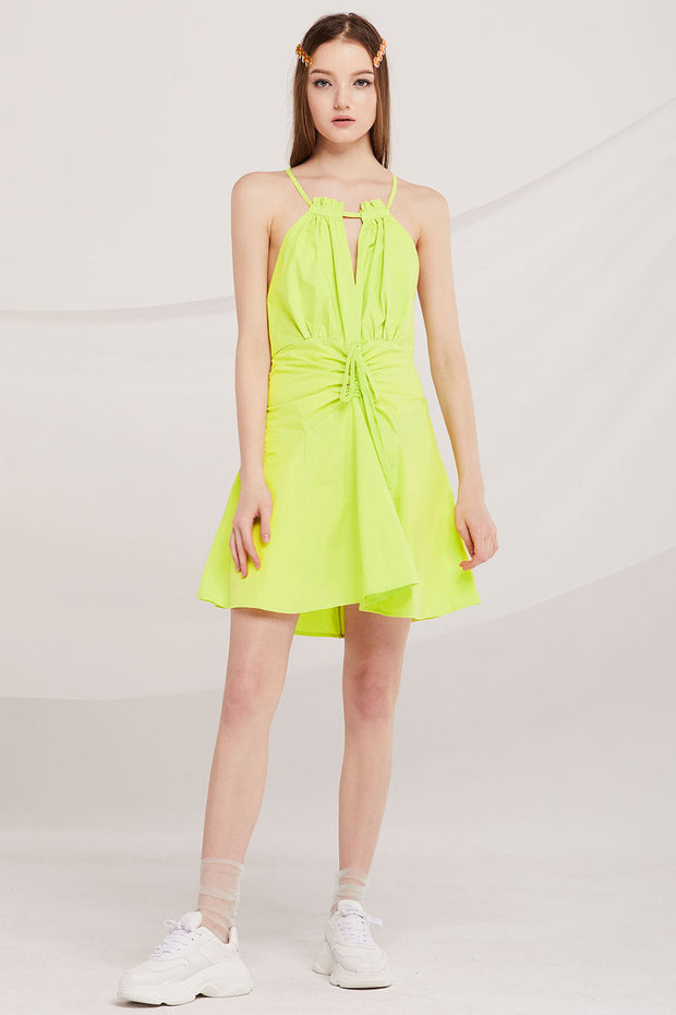 Martha Halter Skater Dress