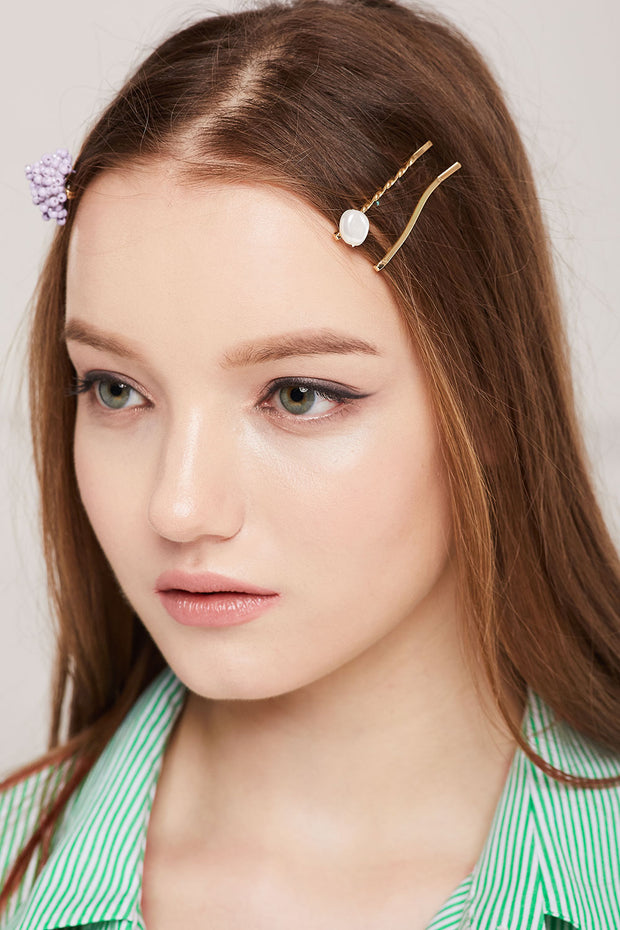 Flower Bobby Pin Set