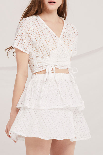 Nola Eyelet Lace 2-Piece Set
