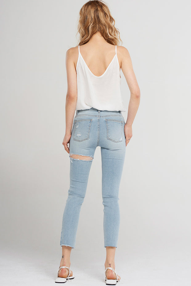 storets Abby Knee Rip Denim Jeans