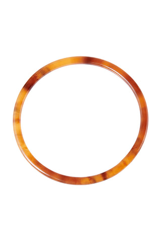 Faux Jade Bracelet-Brown