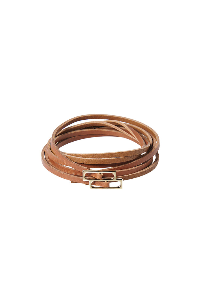 Double Layered Belt-Camel