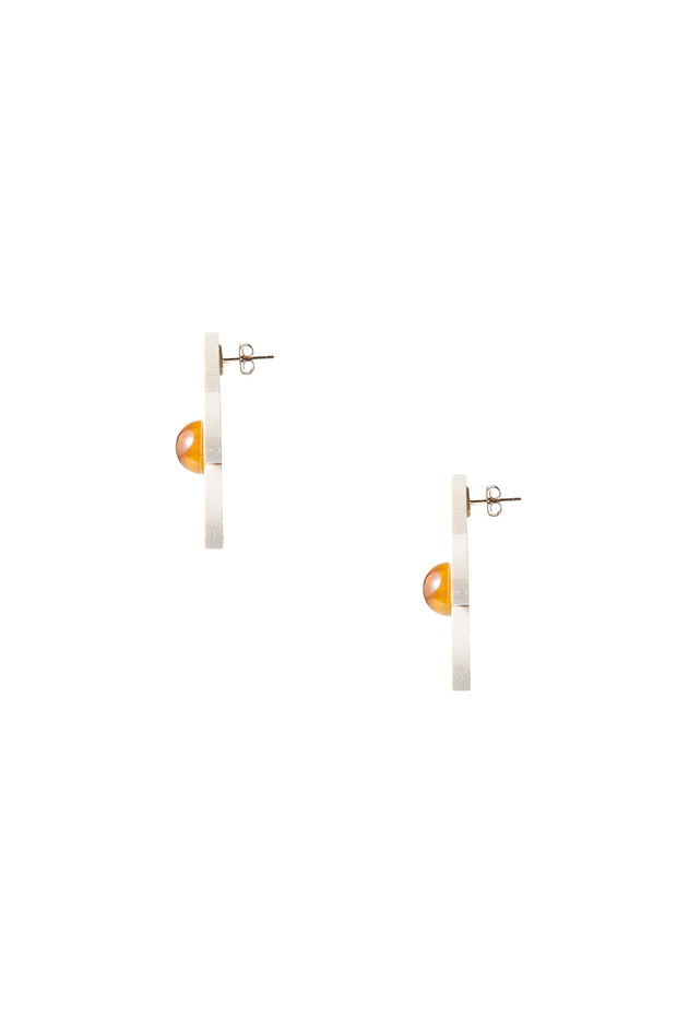 storets.com Pine Flower Earrings-Beige