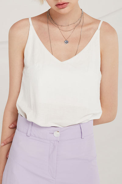 Gabriel Dual V-Neck Cami Top