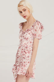 Grayson Floral Ruched Dress