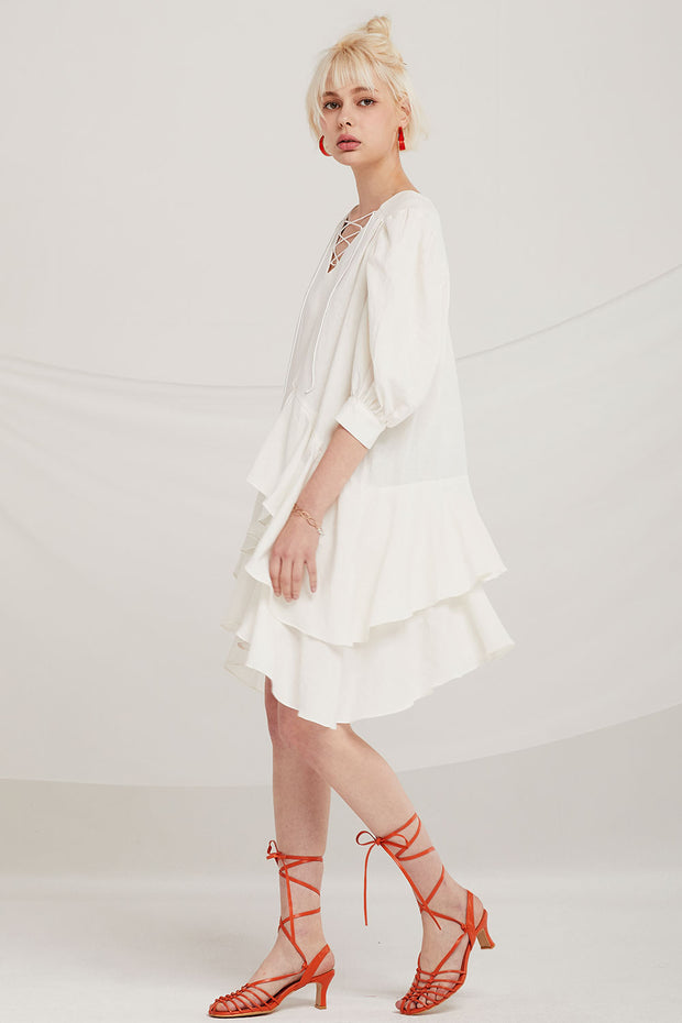 Eliza Tiered Ruffle Dress