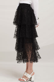 Julian Tierd Lace Long Skirt