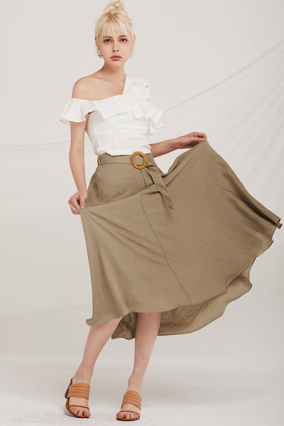 Londyn Full Skirt w/Belt