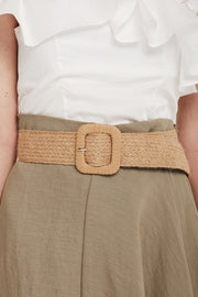 Hemp Belt w/Square Buckle