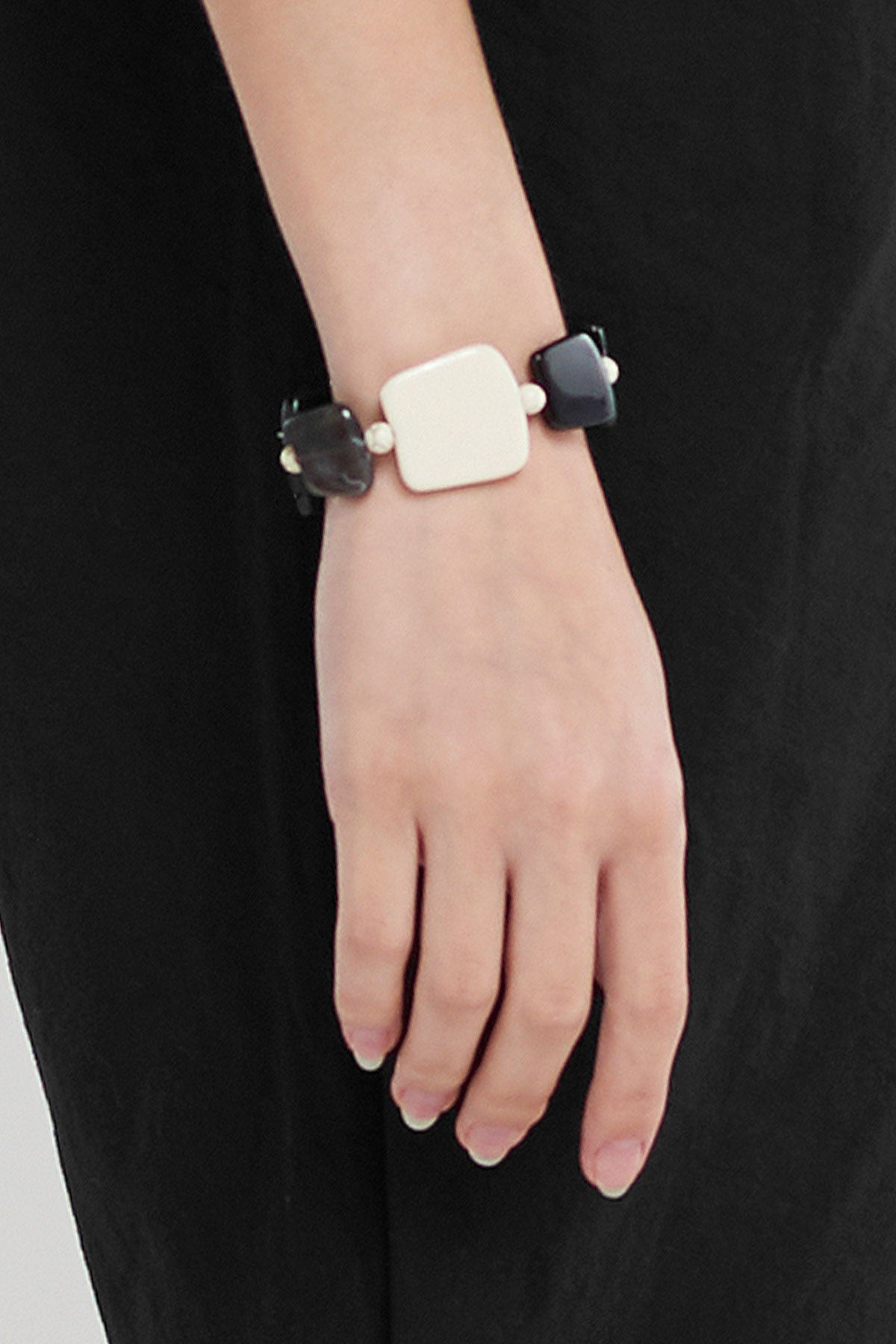 Jade Mix Bracelet-Black