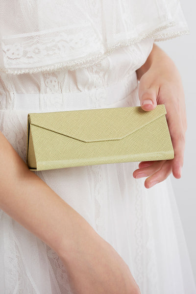 Triangle Fold-out Case-Green