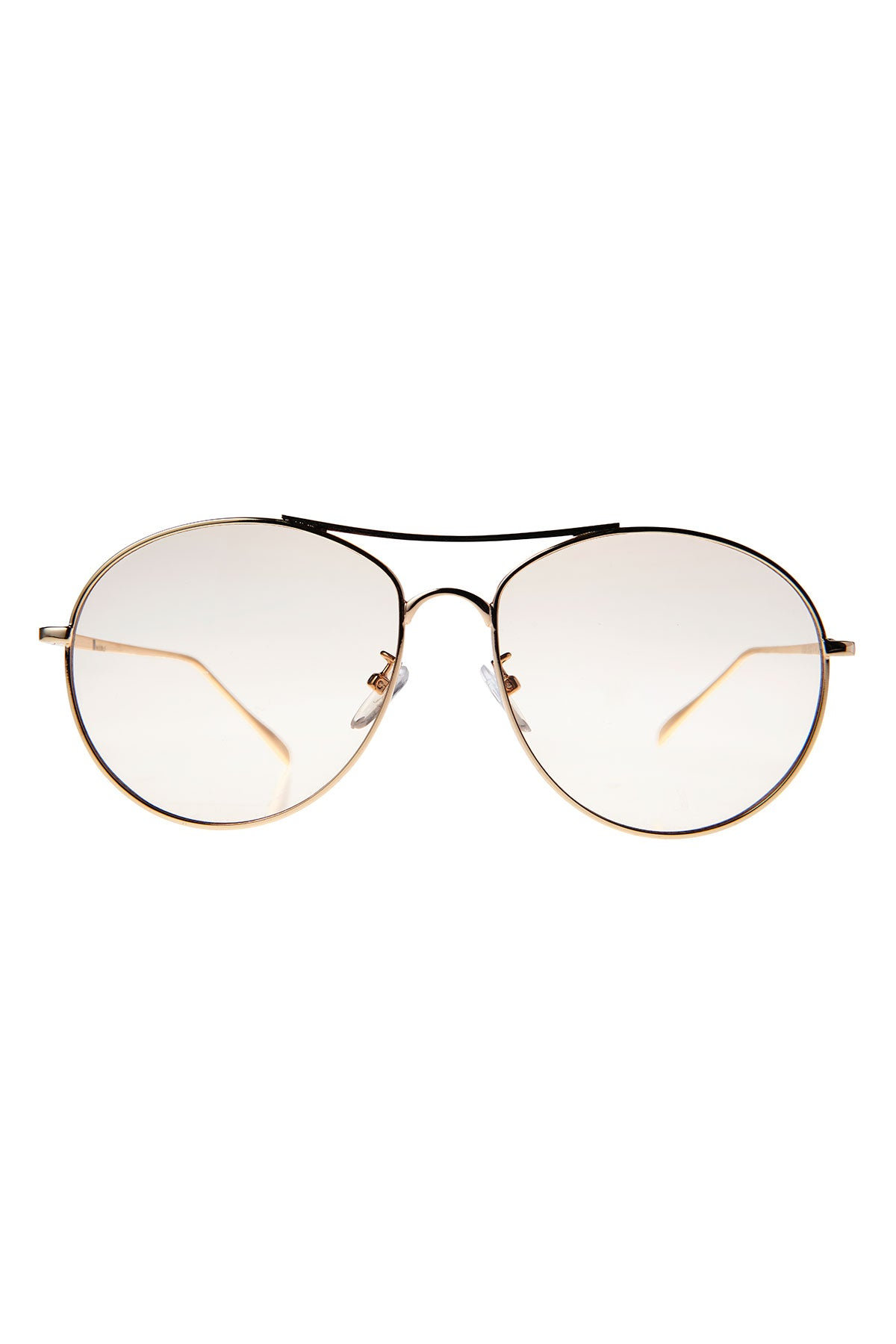 Tinted Boeing Sunglasses-Beige