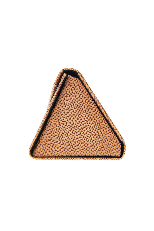Triangle Fold-out Case-Brown